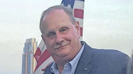 Retired NYPD Sgt. Thomas J. Fennessy on Sept.