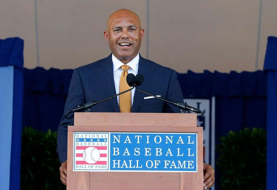 COOPERSTOWN, NEW YORK - JULY 21: Mariano Rivera