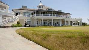 The clubhouse at Sebonack Golf Club in Southampton.