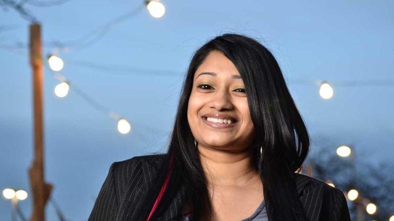 Malisa Ali, a graduate of Stony Brook University,