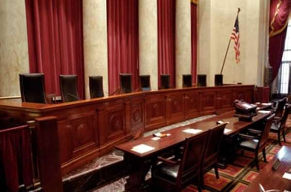 Inside the chambers of the U.S. Supreme Court