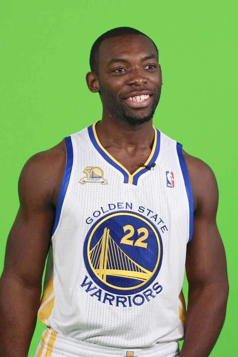 Golden State Warriors' Charles Jenkins is shown at