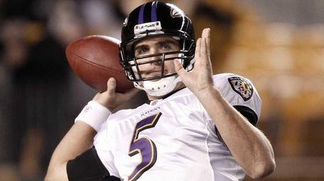JOE FLACCO Ravens, 2008-10 Stats: 48 games, 878-for-1,416,