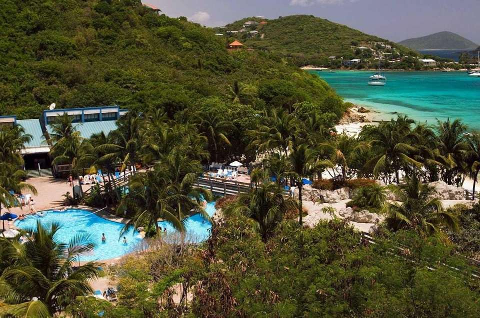 1. US. Virgin Islands Pictured: A view of