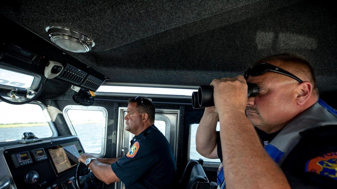 Nassau County Marine Bureau Police Officer Joseph Stassi