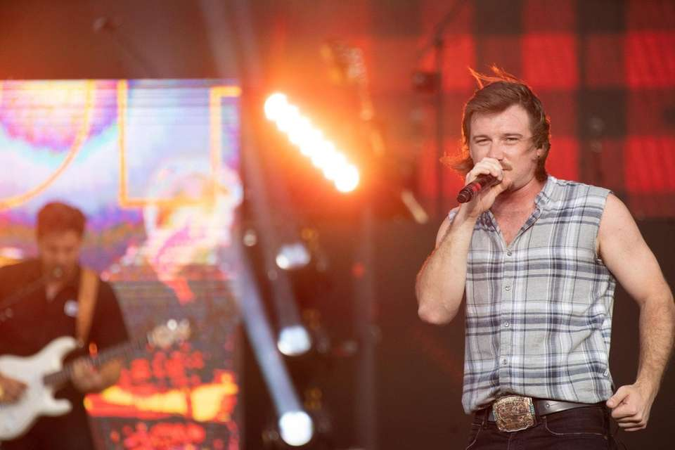 Country music band Morgan Wallen performs at Northwell