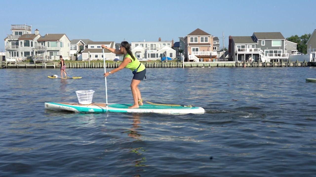 Karen Marvin, owner of South Shore Paddleboards in