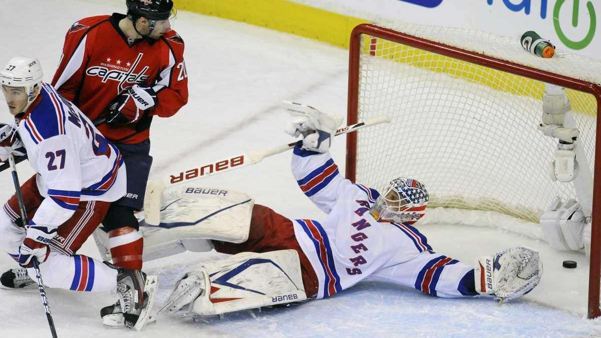 Capitals break Rangers' 5-game winning streak | Newsday
