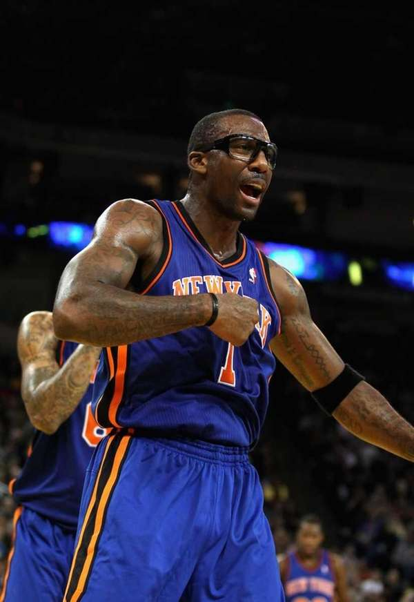 Amar'e Stoudemire shot 8-for-11 from the floor on