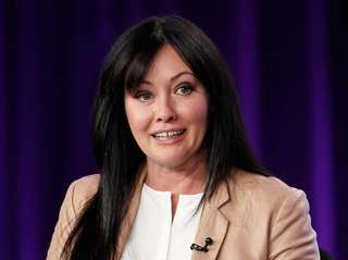 Shannen Doherty takes part in a panel for