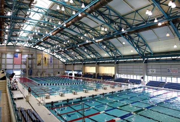 The Nassau County Aquatic Center was built in