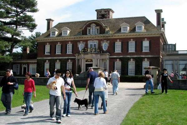 Dog day at Old Westbury Gardens. (Aug. 7,