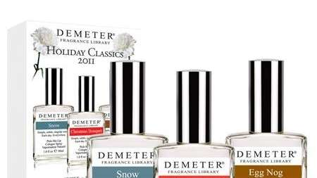 Demeter holiday fragrances