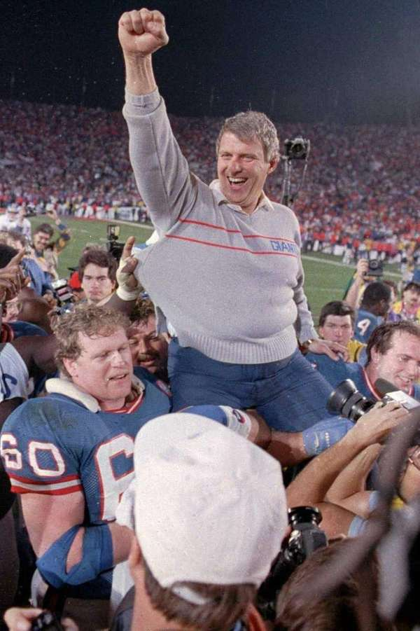 BILL PARCELLS Tenure: 1983-90 Record: 77-49-1 Highlights: After