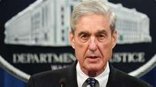 Special counsel Robert Mueller on May 29.