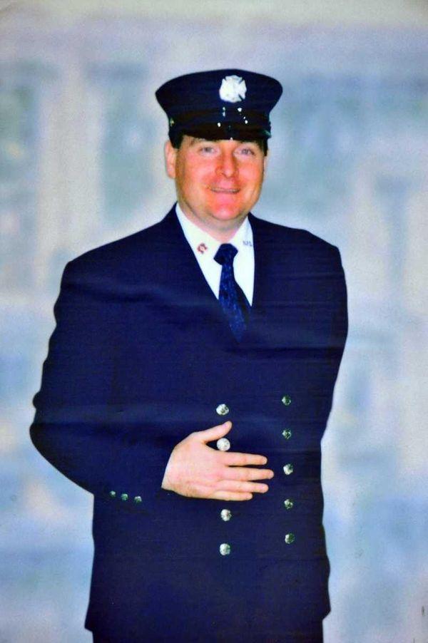 An undated photo of Malverne firefighter Paul Brady.