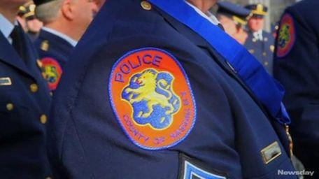 A file photo of a Nassau County police