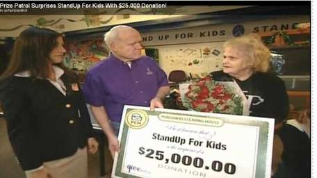 Publishers Clearing House Prize Patrol donates $25K to