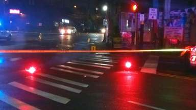 A 26-year-old man was critically injured Monday night