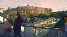 An updated rendering of the planned Islanders' Belmont