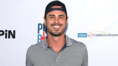 Ben Higgins at an event at Dodger Stadium