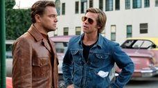 "Leonardo DiCaprio and Brad Pitt star in ""Once"