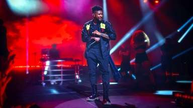 Usher performed at Northwell Health's 14th annual Feinstein