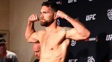 Chris Weidman at UFC 230 official weigh-ins at