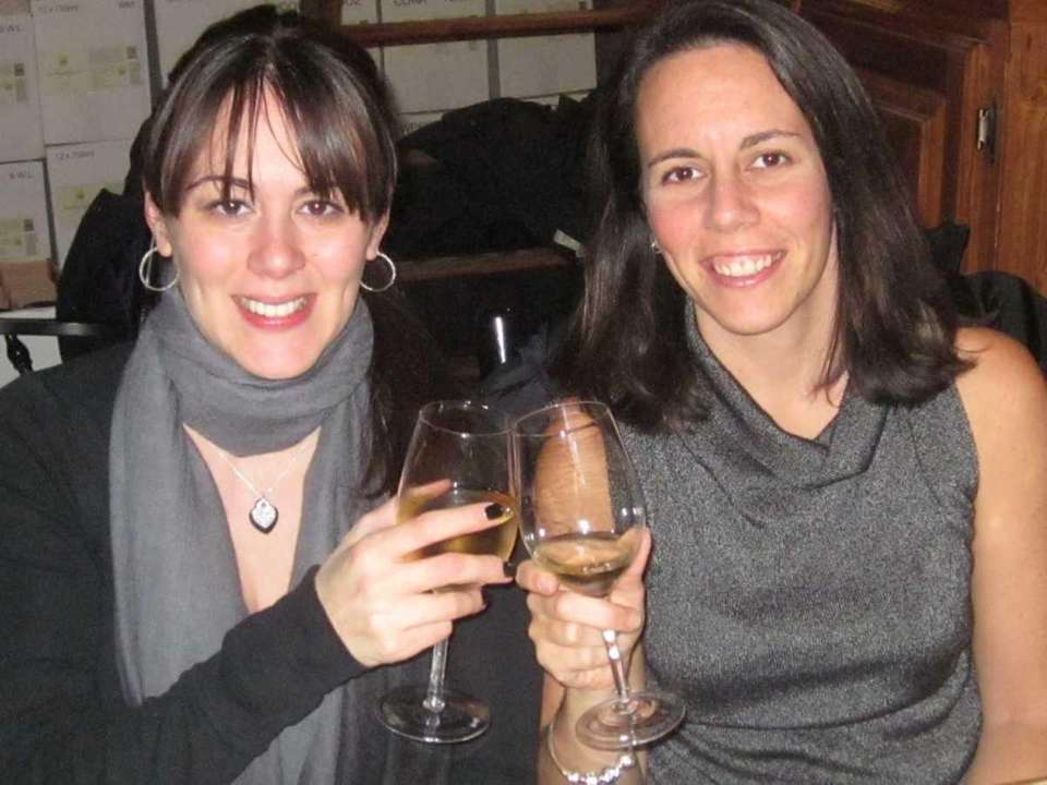 Michelle Clark, of Mattituck, and Rachel Johnson, of