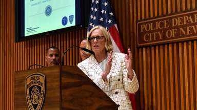 NYC Special Narcotics Prosecutor Bridget Brennan on Tuesday