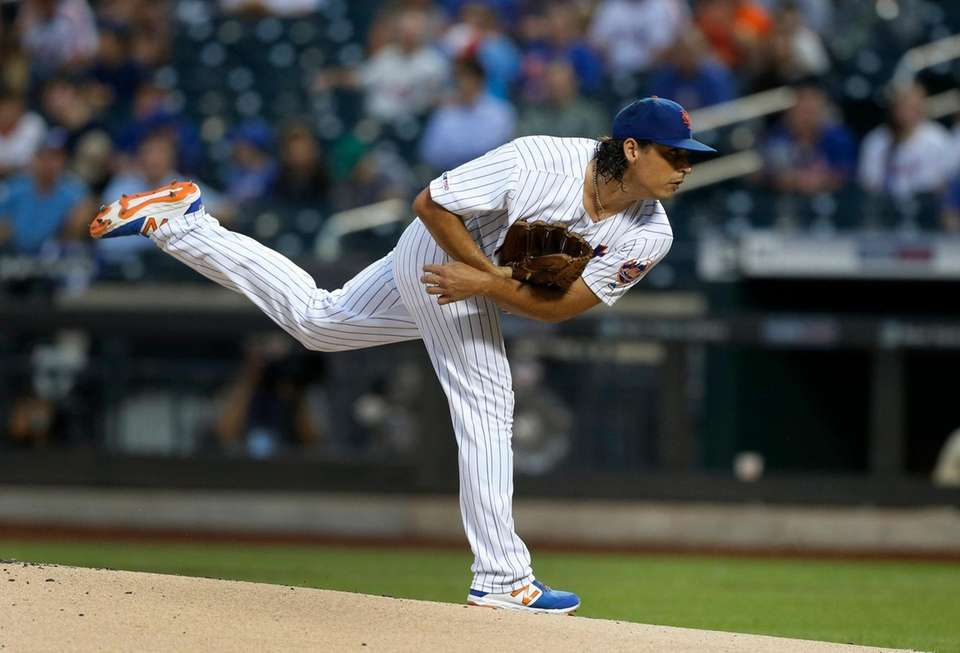 Jason Vargas #44 of the New York Mets