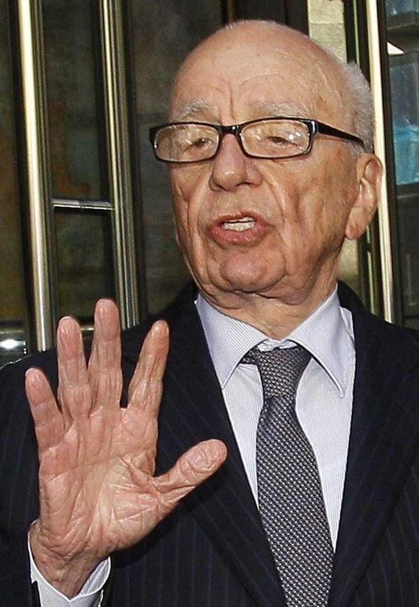Rupert Murdoch, seen in a file photo, said