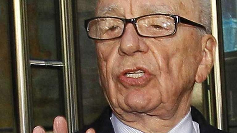 Rupert Murdoch, seen in a file photo, said
