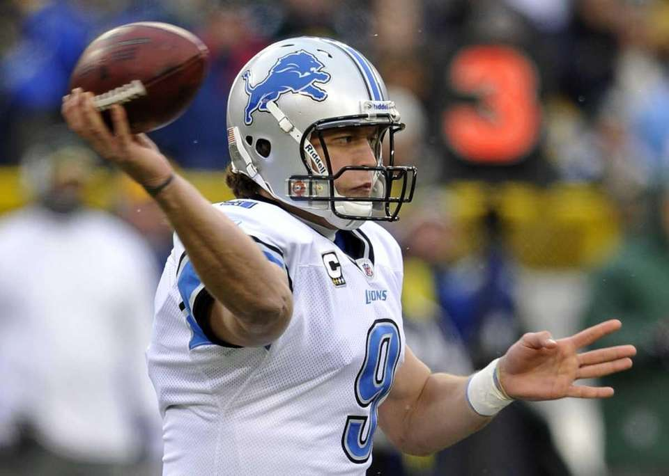 MATTHEW STAFFORD: 5,038 2011, Detroit Lions Stats: 421-for-663