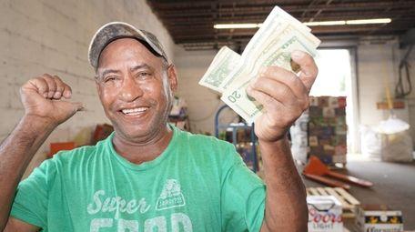 Juan Esteban Rosario of Central Islip with the
