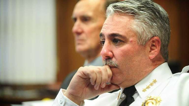 Suffolk County Police Chief of Department James Burke,