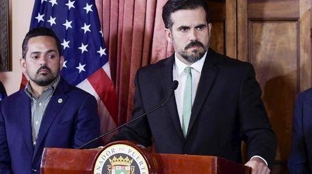 Puerto Rico Gov. Ricardo Rosselló will step down