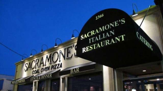 Sacramone's Coal Oven Pizza in East Meadow