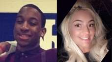 Anthony St. Hilaire, 22, and Olivia Digrigoli, 21.