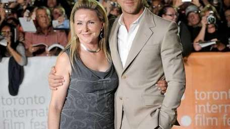 Actor Ryan Gosling and mother Donna Gosling at