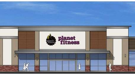 Planet Fitness, seen in this artist's rendering, will