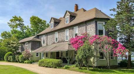 Built around 1890, the 5,431-square-foot Shelter Island home