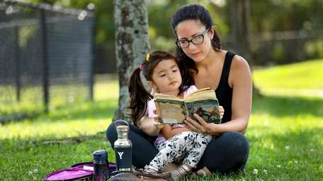 Melissa Lopez and her daughter Lilliana, 3, found