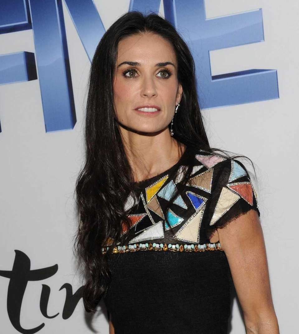 Actress Demi Moore attends the screening of