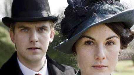 Dan Stevens and Michelle Dockery star in
