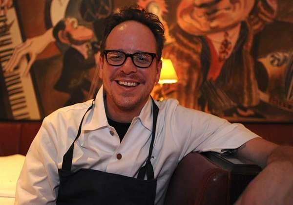 Chef Damon Wise at Monkey Bar in Manhattan