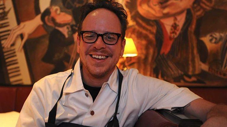 Chef Damon Wise at Monkey Bar in Manhattan