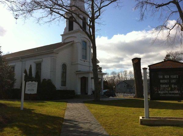 The Mattituck Presbyterian Church is on Sound Avenue