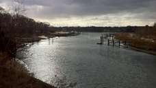A view of the Mattituck Inlet from Wickham