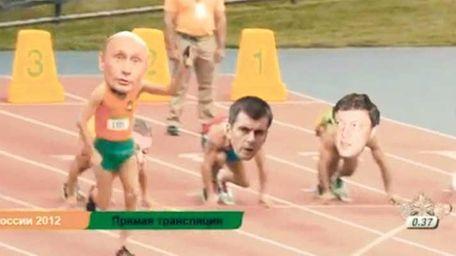 See Putin run